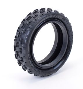 U6770 Cut Stagger Fr Tyres - Low Profile - Yellow (pr)