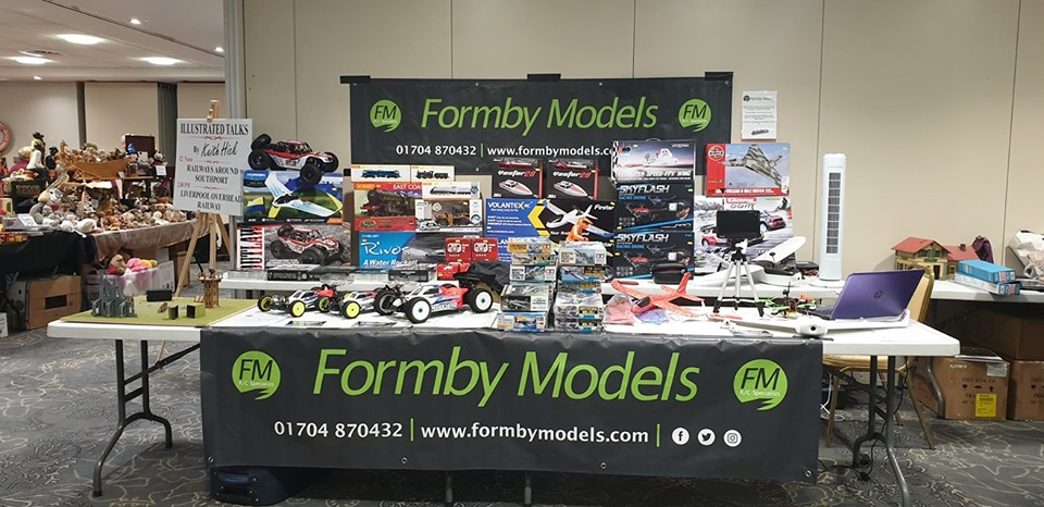 Set up at the Big Model Show, 10/09/19 Southport